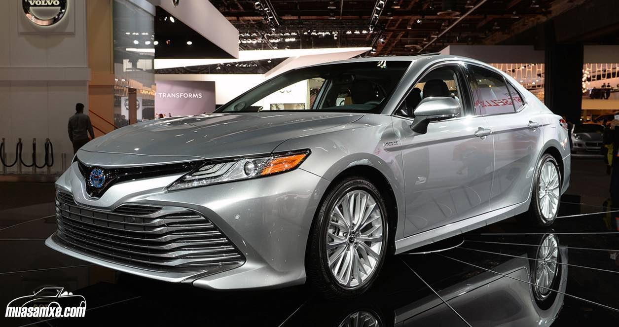 Toyota Camry 2018 XLE Hybrid chính thức lộ diện