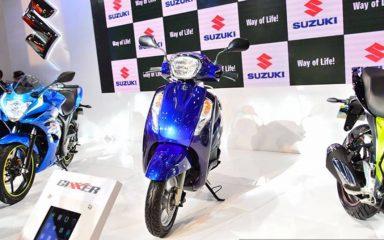 Suzuki Access 2017 125cc thế hệ mới giá bán mới nhất bao nhiêu?