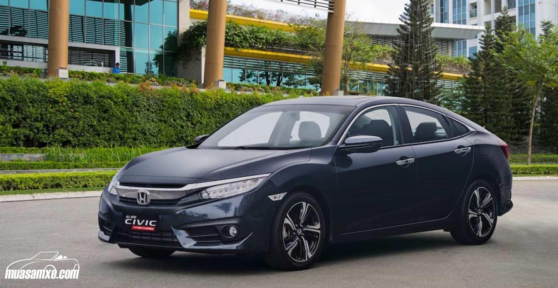 Honda Civic 2017 chốt giá bán chính thức tại Việt Nam