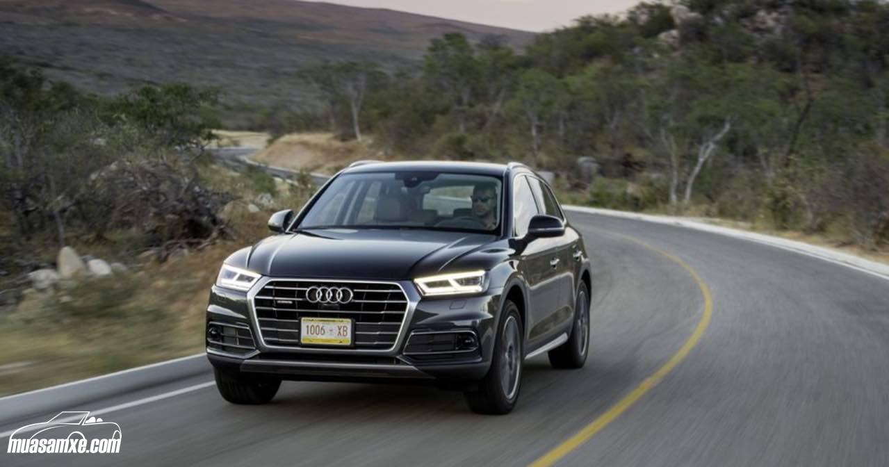 Audi Q5 2017 chính thức được bán ra với giá 1,3 tỷ đồng tại Anh