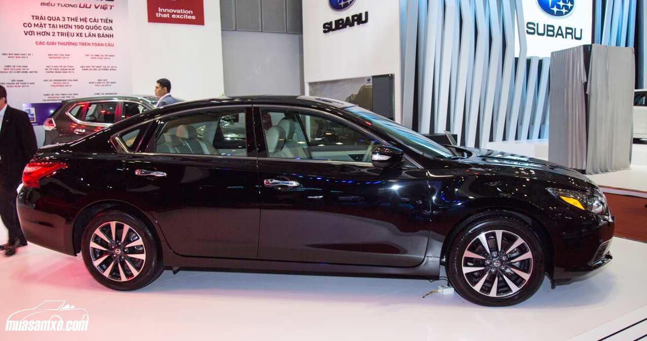 Thông số kỹ thuật và trang bị tiện nghi trên Nissan Teana 2017