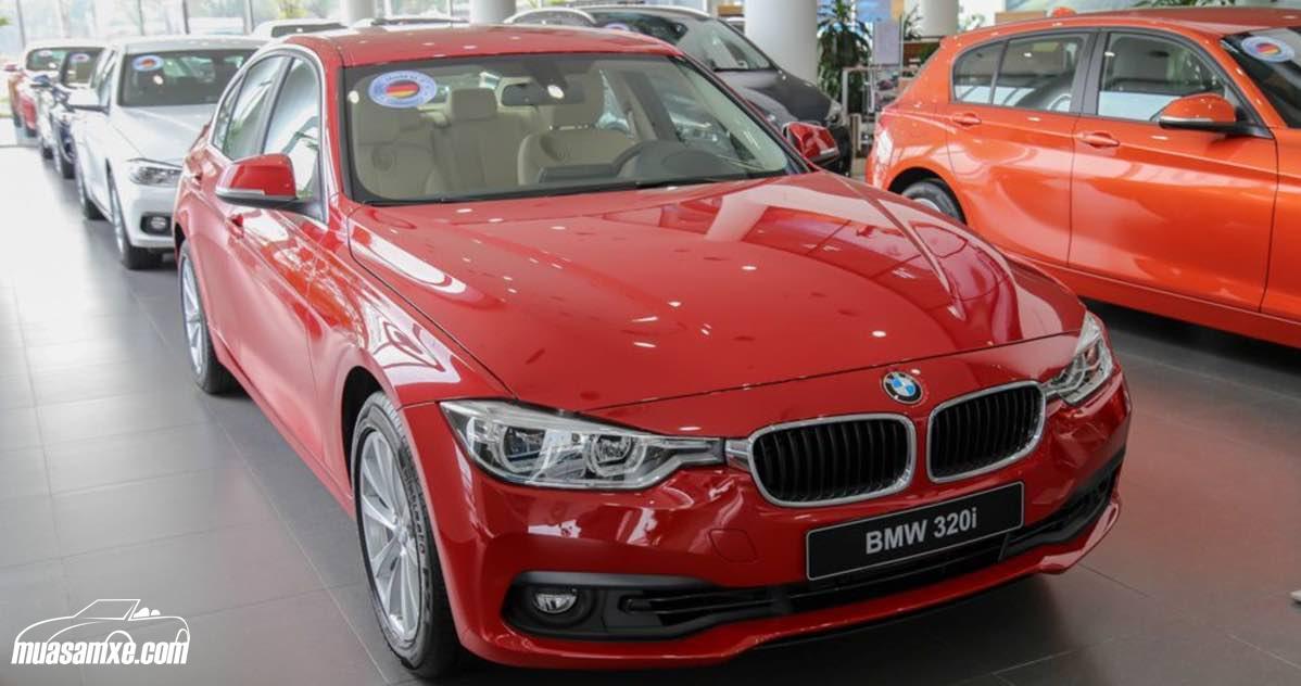 Đánh giá xe BMW 320i 2017 về thiết kế nội ngoại thất, động cơ & vận hành