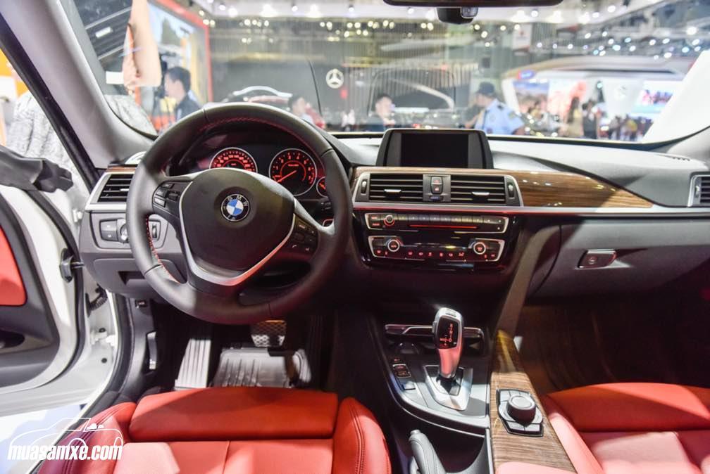 Đánh giá nội thất xe BMW 320i 2017: Gần gũi và quen thuộc!