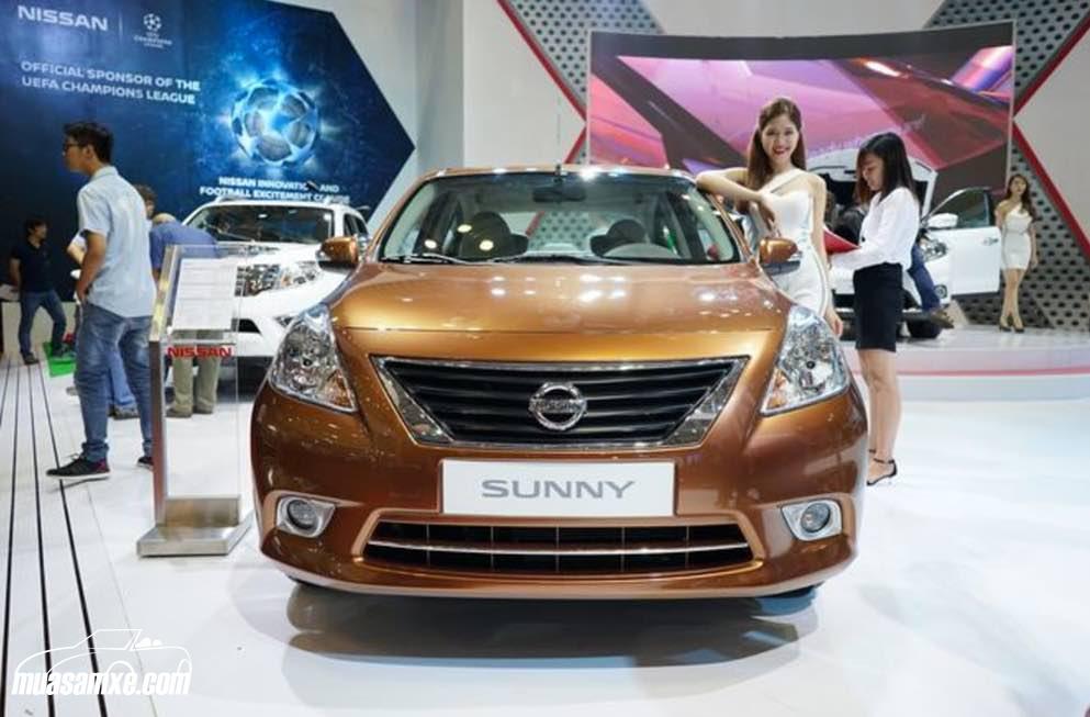 Đánh giá xe Nissan Sunny 2017 về thiết kế ngoại thất
