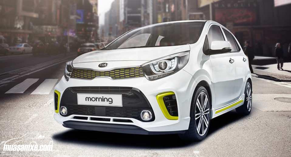 Đánh giá xe Kia Morning 2017 về thiết kế nội ngoại thất và giá bán chính thức