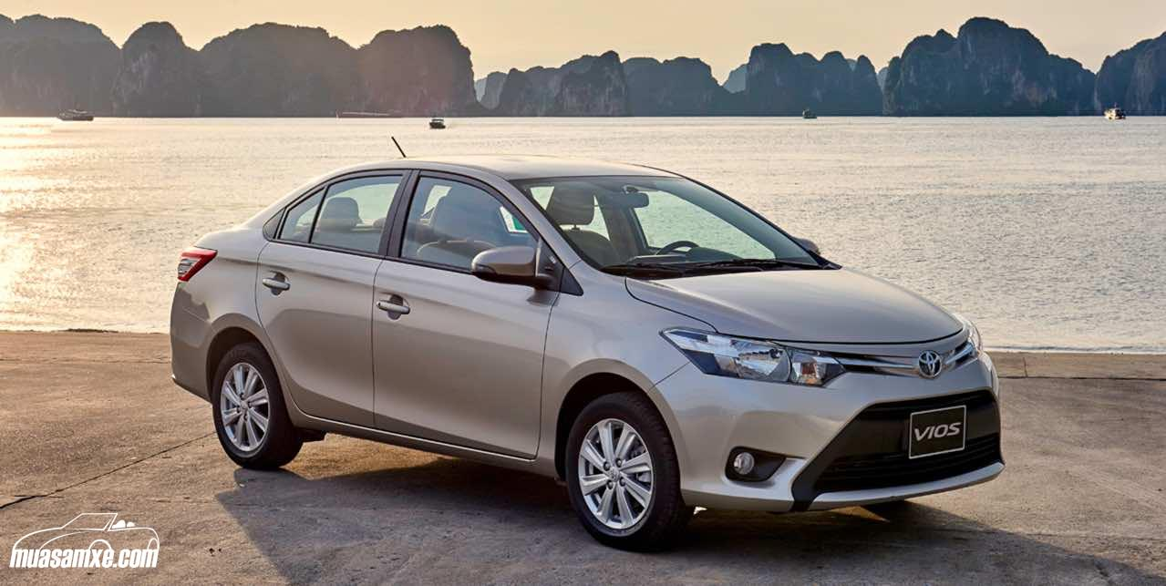 Đánh giá Toyota Vios 2017: Nên mua Vios 1.5G hay Vios 1.5E?