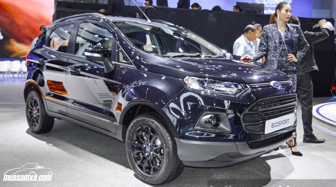 Đánh giá xe Ford EcoSport facelift 2017 về giá bán kèm hình ảnh chi tiết