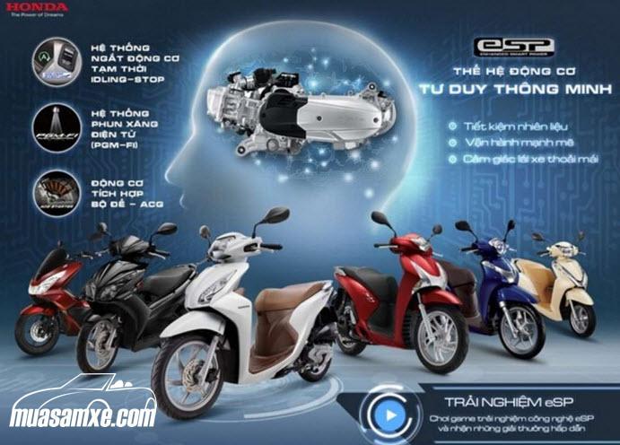 Bảng giá xe Honda tháng 1/2017 (xe máy & giá xe ôtô) cập nhật hôm nay 1