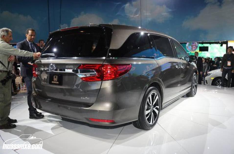 Đánh giá xe Honda Odyssey 2018 về thiết kế nội ngoại thất và giá bán