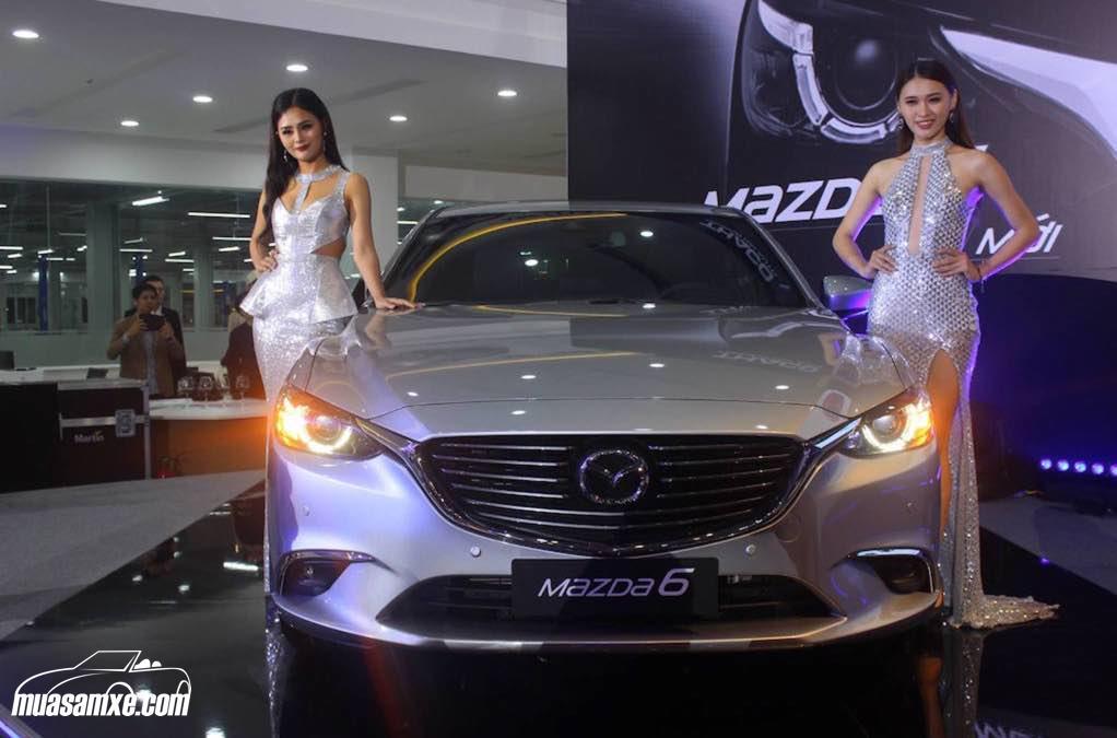 Mazda6 2017 giá bao nhiêu?