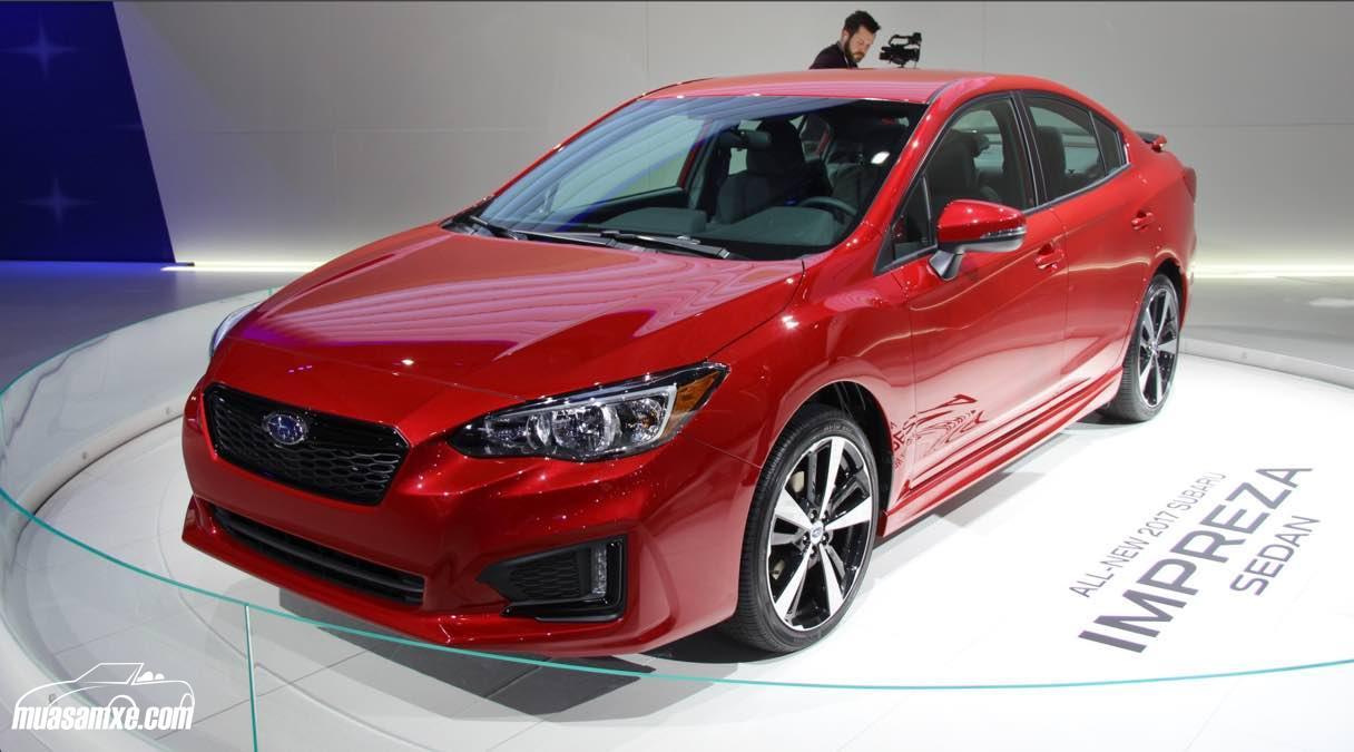 Đánh giá xe Subaru Impreza 2017 về thiết kế nội ngoại thất và giá bán
