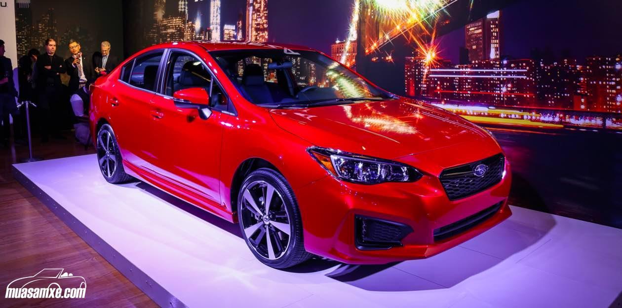 Đánh giá Subaru Impreza 2017 về ngoại thất và trang bị động cơ