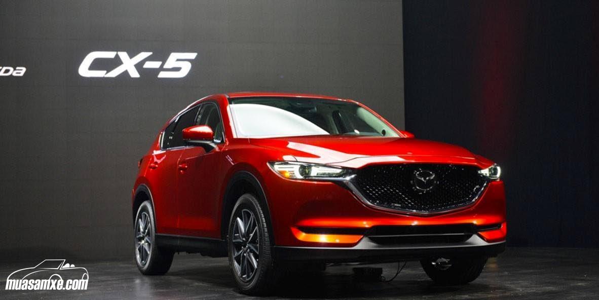 Đánh giá xe Mazda CX-5 2017: Mạnh mẽ, thể thao và nhiều công nghệ!