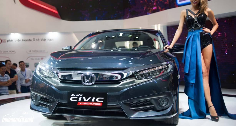 Honda Civic 2017: Thiết kế sắc xảo, khoẻ khoắn và thể thao