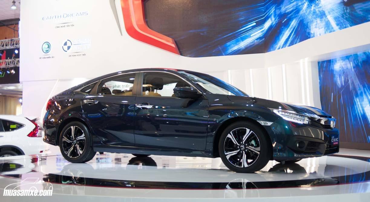 Honda Civic 2017 bán tại Việt Nam sử dụng động cơ tăng áp 1,5 lit