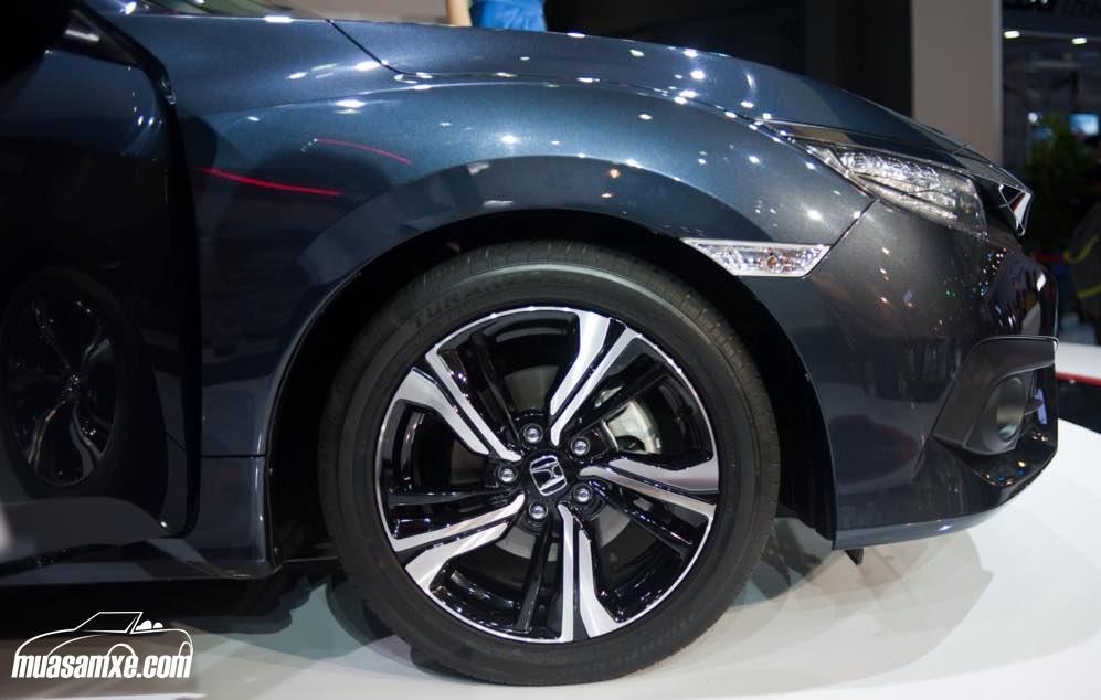 Honda Civic 2017 được ASEAN NCAP chứng nhận an toàn 5 sao