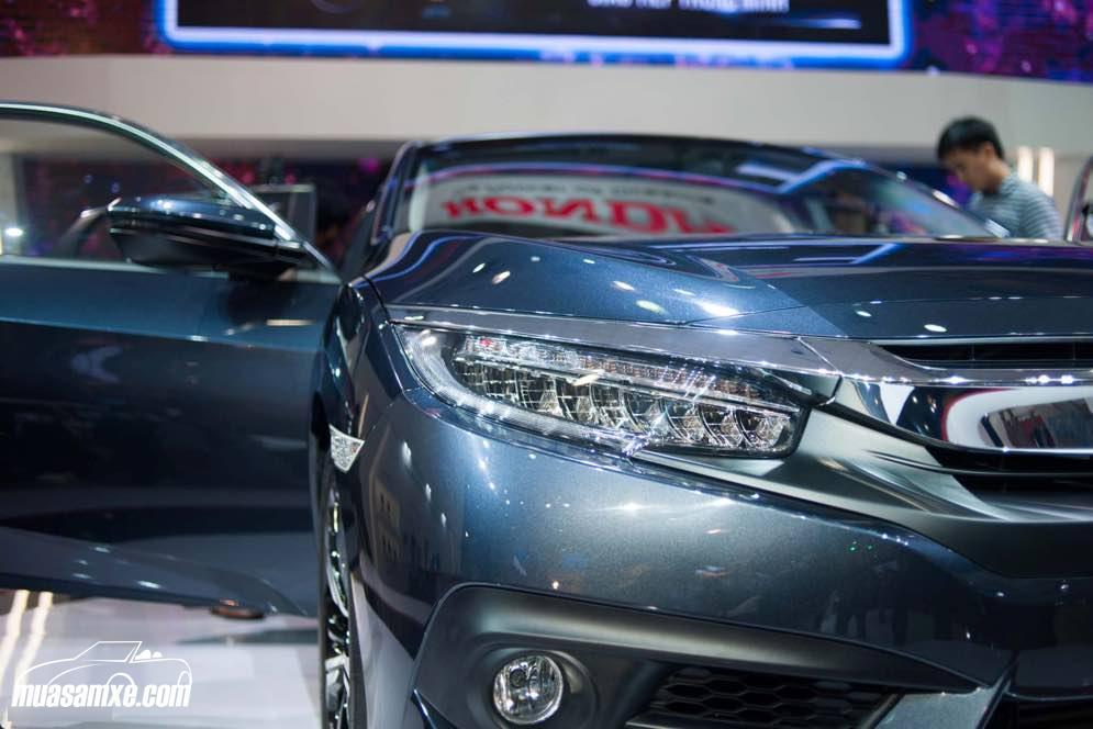 Honda Civic 2017 chính thức ra mắt thị trường Việt Nam