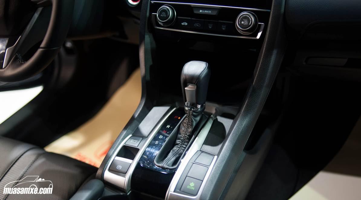 Honda Civic 2017 ở Việt Nam không bị lỗi phanh tay điện tử như thị trường Bắc Mỹ