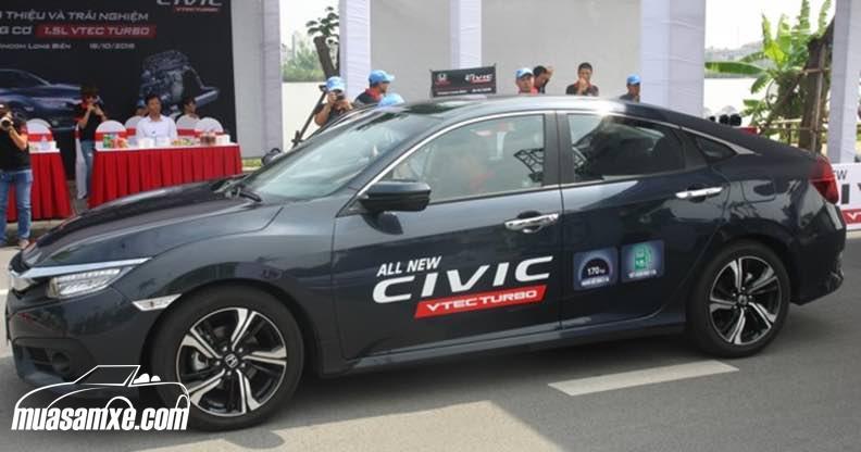 Cảm nhận khi lái thử Honda Civic 2017 thế hệ thứ 10
