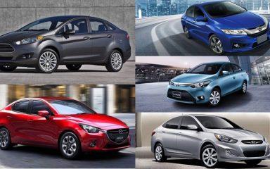 Top 5 xe sedan hạng B tầm giá 600 triệu đáng mua nhất tại Việt Nam