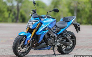 Ảnh chi tiết Suzuki GSX S1000 với thiết kế đầy hoang dã & cơ bắp