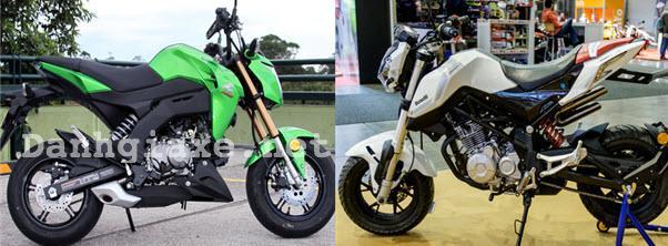 So sánh nên mua Benelli TNT 125 hay Kawasaki Z125 tại thị trường Việt Nam?