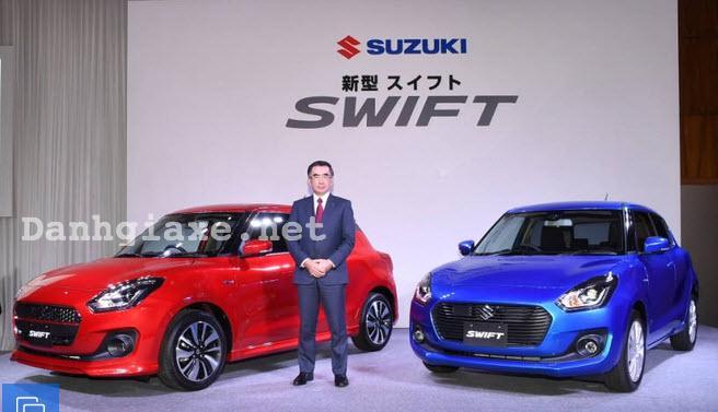 Đánh giá xe Suzuki Swift 2017 về hình ảnh, thiết kế vận hành & giá bán mới nhất 1