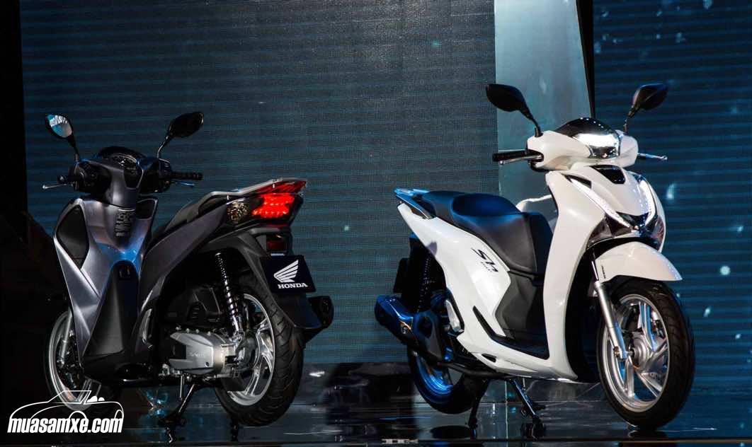 Giá xe Honda SH 2017 (SH125, SH150 & SH 300i) tại Việt Nam cập nhật mới nhất