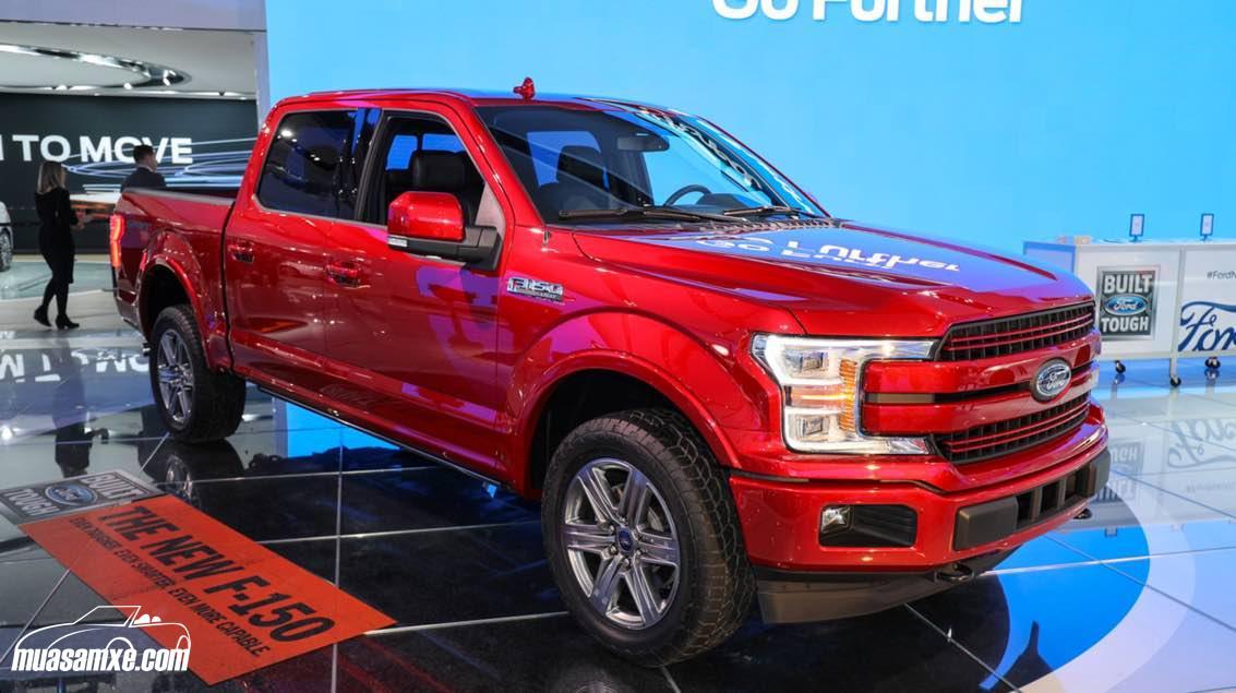 Đánh giá xe Ford F150 2018 về thiết kế nội ngoại thất và giá bán