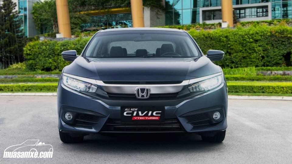 Đánh giá ngoại thất và thông số kỹ thuật Honda Civic 2017