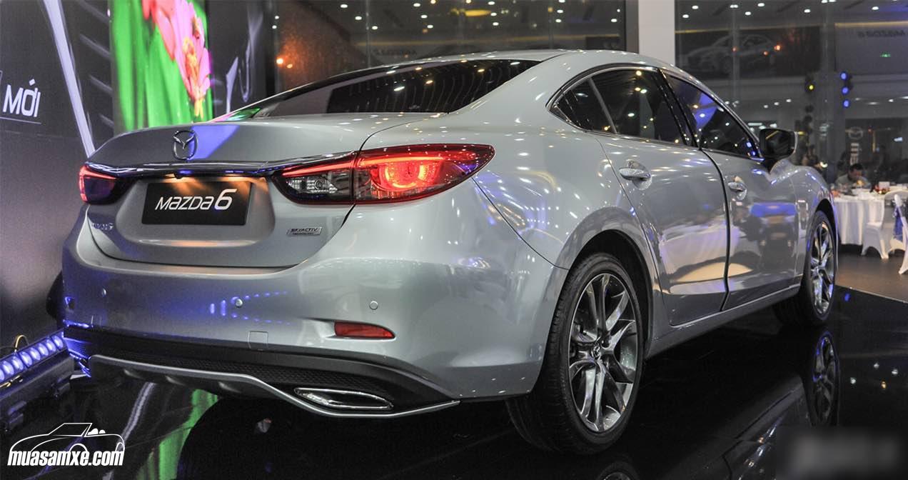 Những ưu điểm của Mazda 6 2017 về công nghệ mới giúp lái xe an toàn hơn