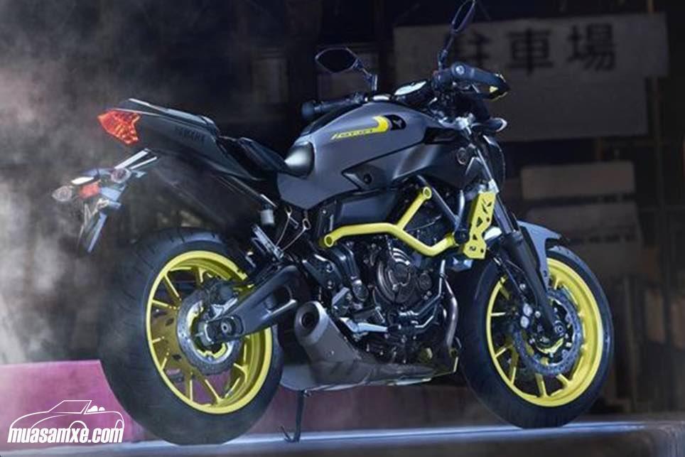 Đánh giá xe Yamaha MT-07 2017 về thiết kế và ưu nhược điểm