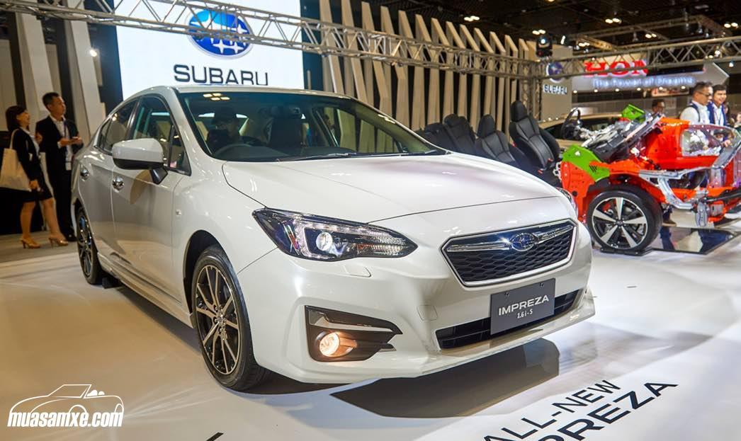 Đánh giá nhanh xe Subaru Impreza 2017 thế hệ mới