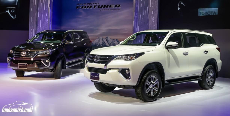 Đánh giá ngoại thất xe Toyota Fortuner 2017 bản G 4×2 MT