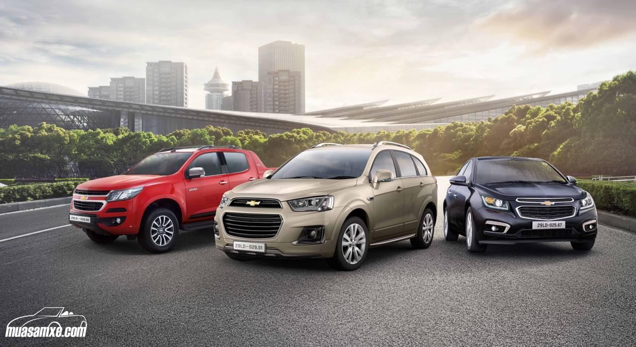 Doanh số bán xe Chevrolet tăng trưởng 34% trong năm 2016