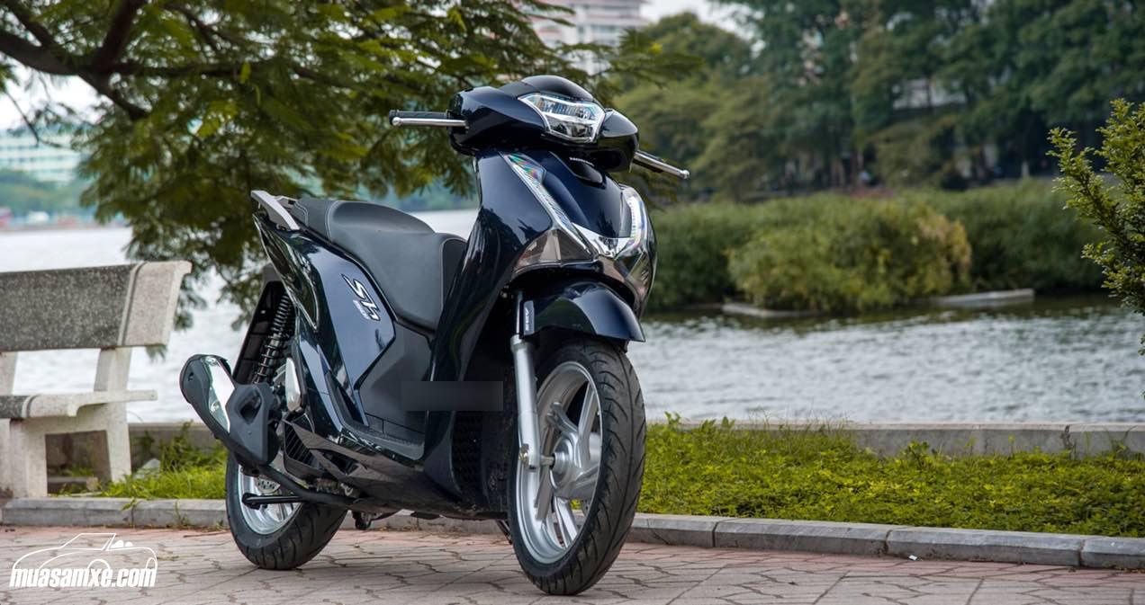 Giá xe Honda SH 2017 mới nhất hôm nay