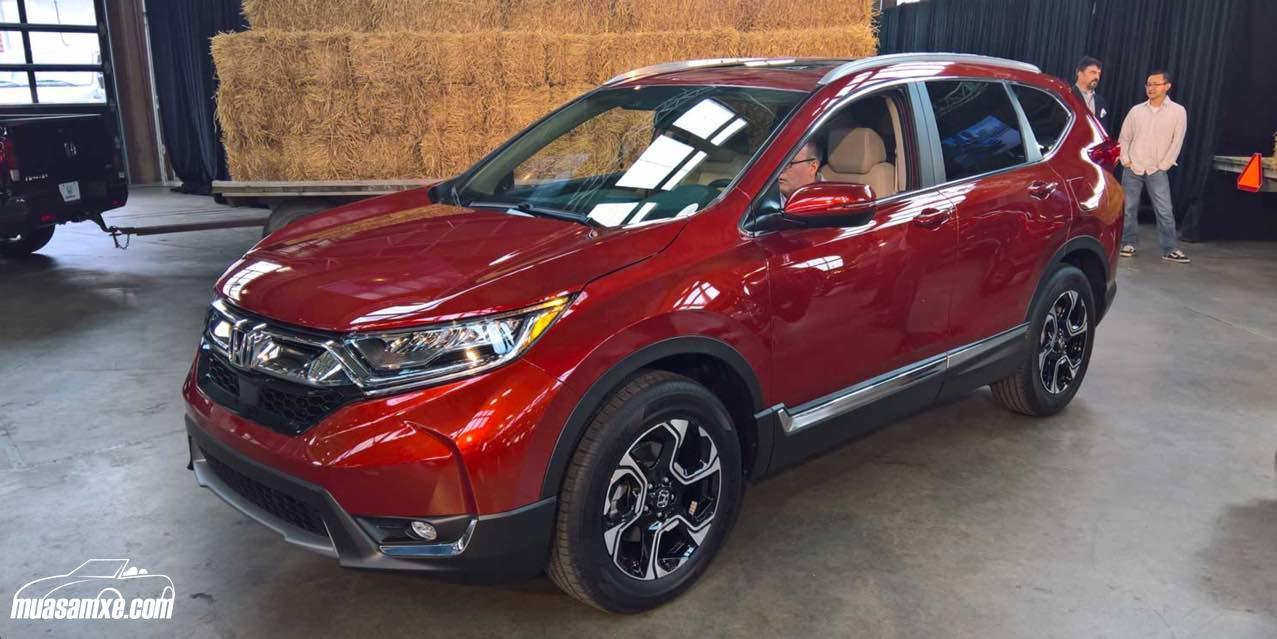 Bảng giá xe Honda CR-V 2017 mới nhất hôm nay