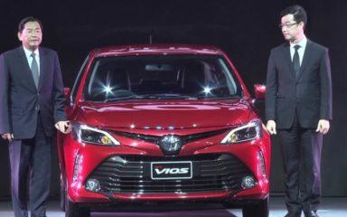 Giá xe Toyota Vios 2017 từ 389 triệu VNĐ tại Thái Lan