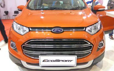 Ảnh thực tế chi tiết Ford EcoSport phiên bản cao cấp tại Ấn Độ 2