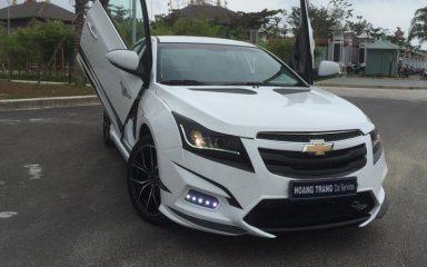 Cận cảnh Chevrolet Cruze độ bodykit giá 100 triệu của thiếu gia Đà Nẵng 1